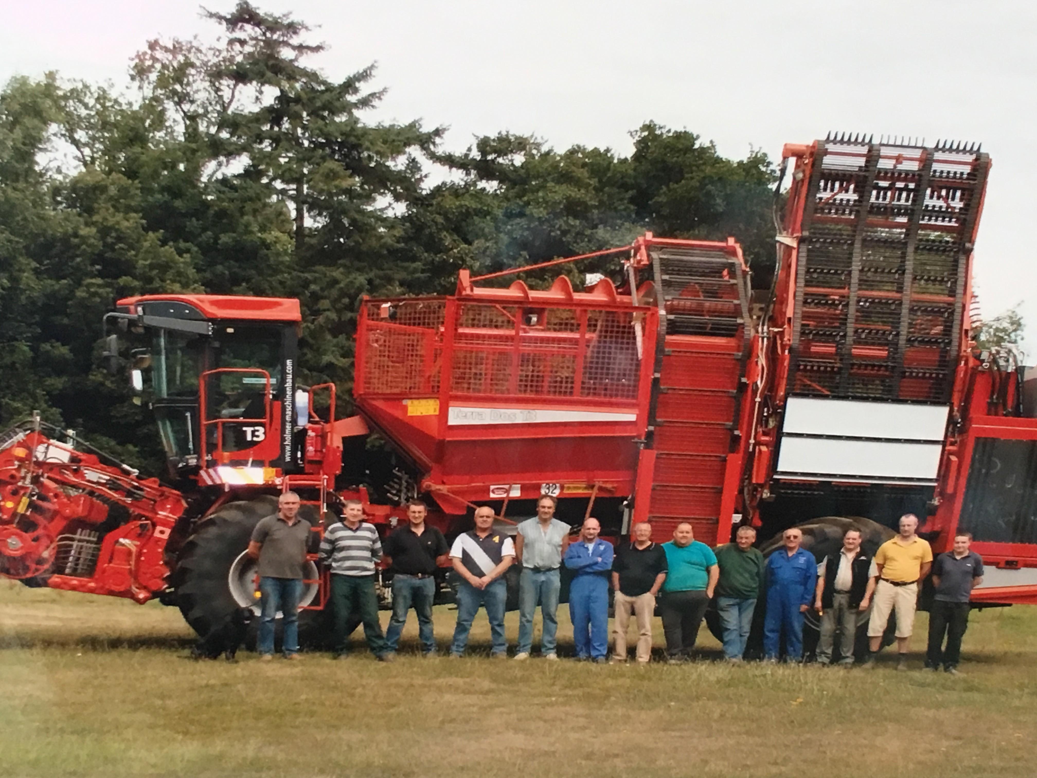Wroxham Farming Staff